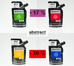 Sennelier Abstract acrylic paint exceptional temporary promotion