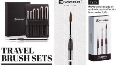 860a659644 Escoda reispenseel sets. 1252 Escoda travel brush ...