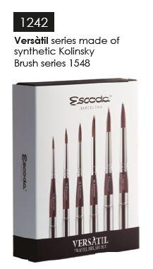 Escoda 1548 Versatil Travel Brush Set Of 6