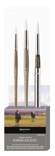 Escoda Brush 8605-1 Joseph Zbukvic Set 1