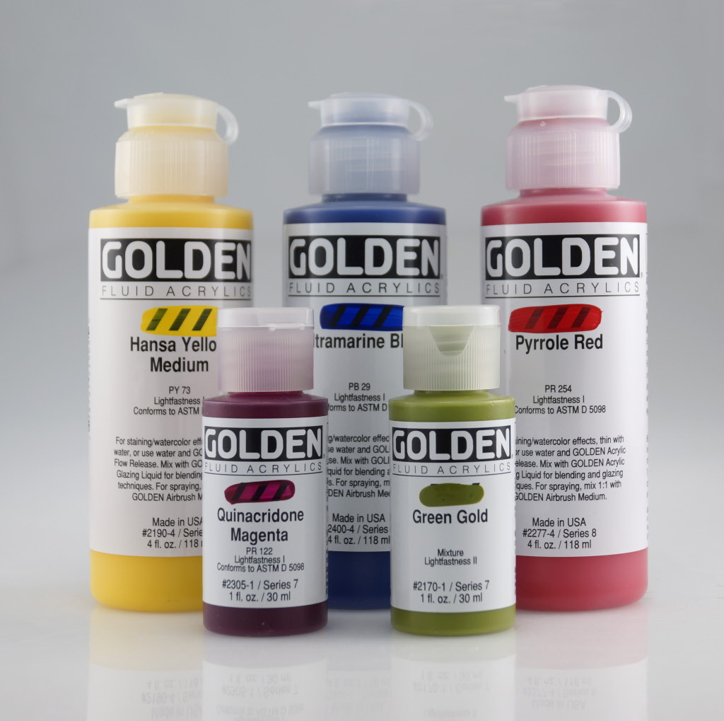 Golden Acrylic Paint Teal