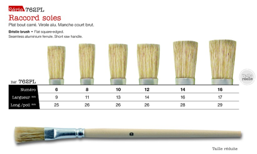 Leonard Bristle Brush 762 Pl Set